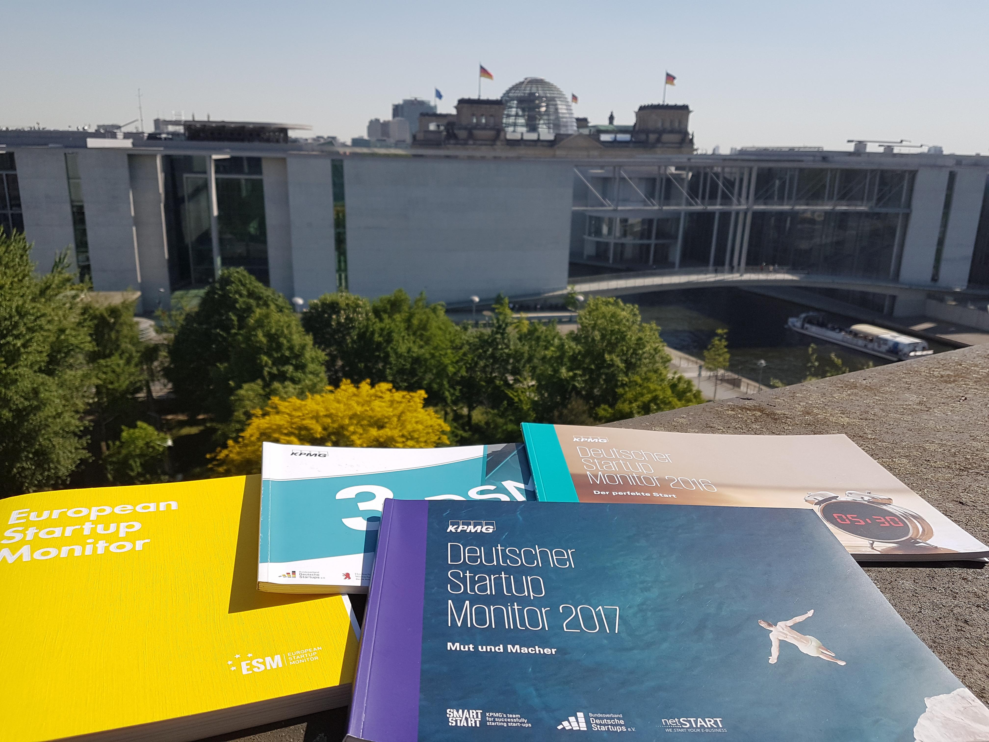 Befragung zum Deutschen Startup Monitor 2018