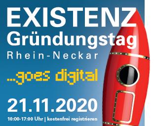 Digitaler Existenzgründungstag Rhein-Neckar
